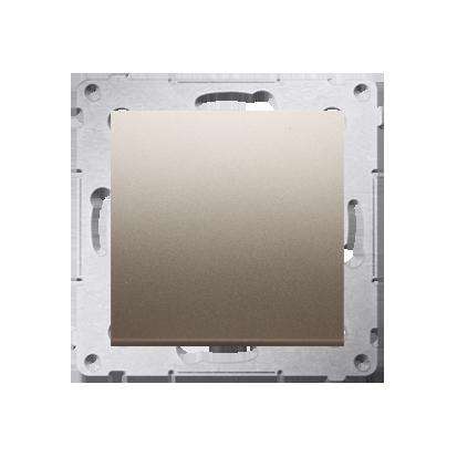 Simon 54 Premium Zlatá Vypínač jednonásobný (modul) X šroubové koncovky, DW1A.01/44