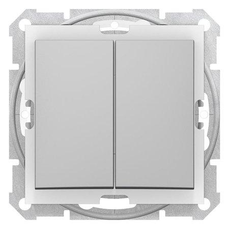 Spínač sériový IP44 hliník Sedna SDN0300460 Schneider Electric