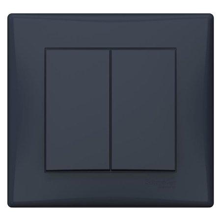 Spínač sériový s rámečkem grafitová Sedna SDN0300270 Schneider Electric