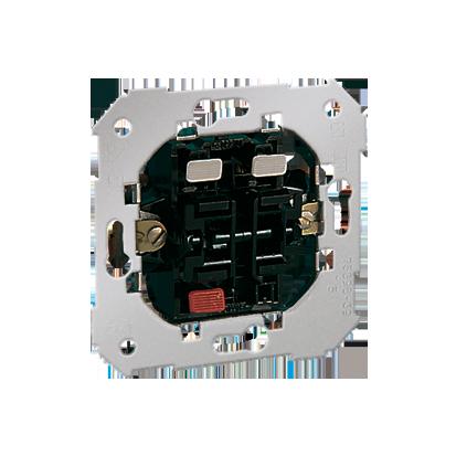 Spínač zkratovací- Tlačítko dvojnásobný (1 výstupy, 2 výstupy) Kontakt Simon 82 75399-39