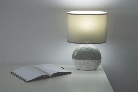 Stopní keramická lampa FIONA, E14 šedá/béžová, 3204 Struhm