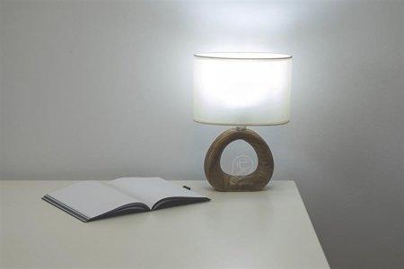 Stopní keramická lampa GOLF, E14 hnědá/béžová, 3205 Struhm