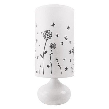 Stopní keramická lampa ZYTA FOOT, E14 bílá, 3203 Struhm