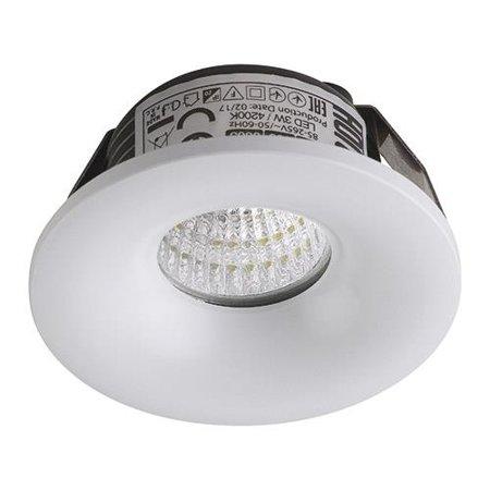Stropní bodové svítidlo BIANCA LED, 3W, 4000K, bílá, 3161, Horoz