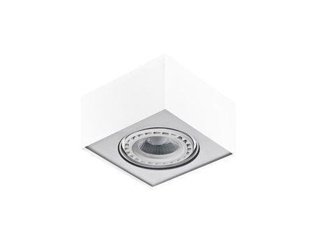 Svítidlo stropní Paulo 1 230V LED 16W bílá hliník Azzardo GM4107