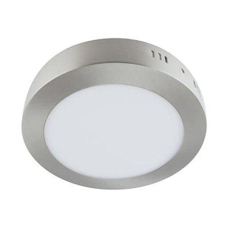 Svítidlo stropní, plafon MARTIN LED C, kulatá, 18W, 4000K, matný chrom, 3274, Struhm