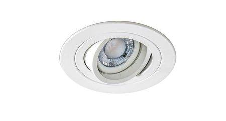 Svítidlo stropní podomítkové Carlo R bílá Azzardo SN-6810R-WH