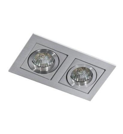 Svítidlo stropní podomítkové Paco 2 hliník Azzardo GM2201
