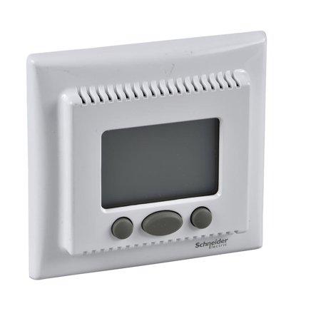 Teplotní regulátor s funkcí komfort bílá Sedna SDN6000221 Schneider Electric