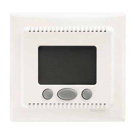 Teplotní regulátor s funkcí komfort krémová Sedna SDN6000223 Schneider Electric