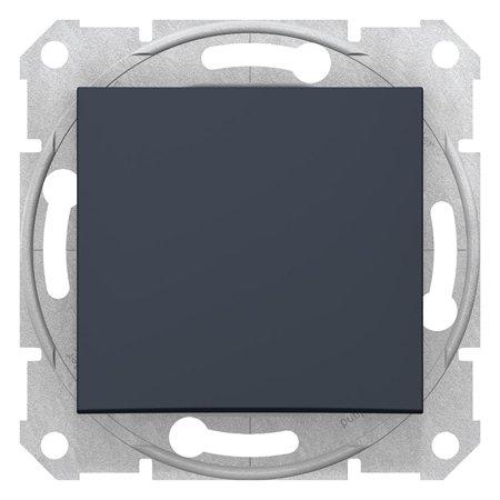 Tlačítko, grafitová Sedna SDN0700170 Schneider Electric