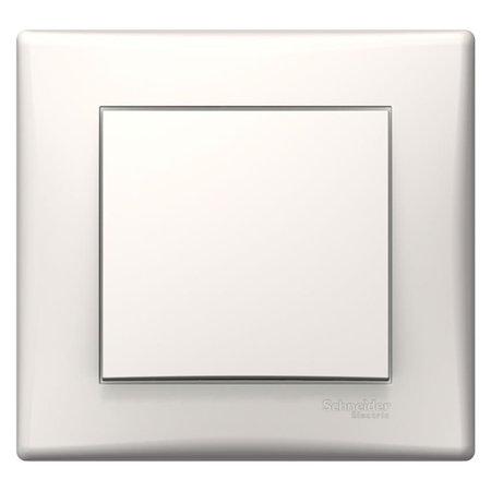 Tlačítko krémová s rámečkem Sedna SDN0700223 Schneider Electric