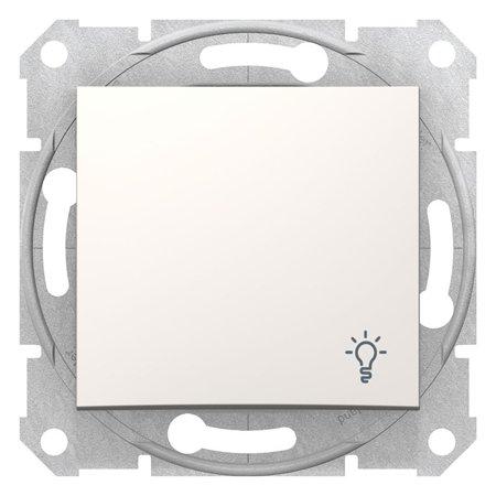 """Tlačítko """"světlo"""" krémová Sedna SDN0900123 Schneider Electric"""