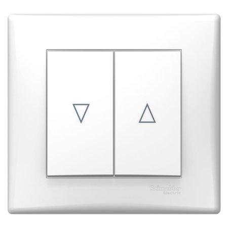 Tlačítko žaluziové bílá DIY Sedna SDN1300221 Schneider Electric