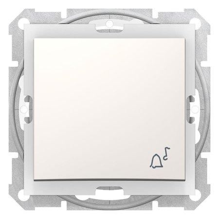 "Tlačítko ""zvonek"" IP44 krémová Sedna SDN0800323 Schneider Electric"
