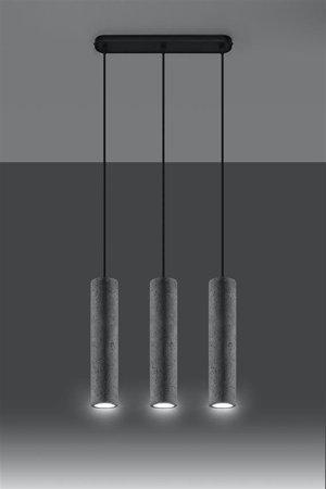 Visící lampa LUVO 3 GU10 SL.0655 Sollux