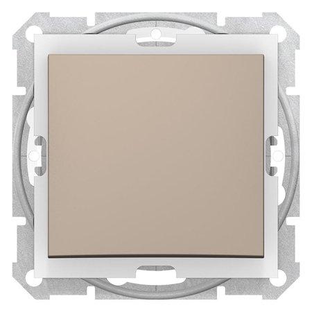 Vypínač 1-pólový IP44 saténová Sedna SDN0100368 Schneider Electric