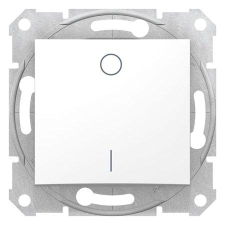 Vypínač 2-pólový bílá Sedna SDN0200121 Schneider Electric