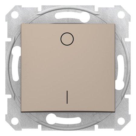 Vypínač 2-pólový saténová Sedna SDN0200268 Schneider Electric