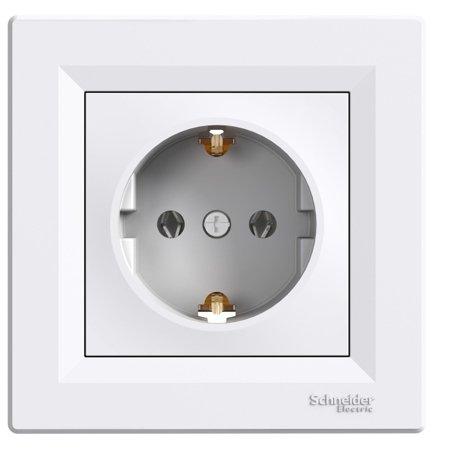 ZÁSUVKA 2P+PE, BÍLÁ (DIY) Schneider Electric Asfora EPH2901121