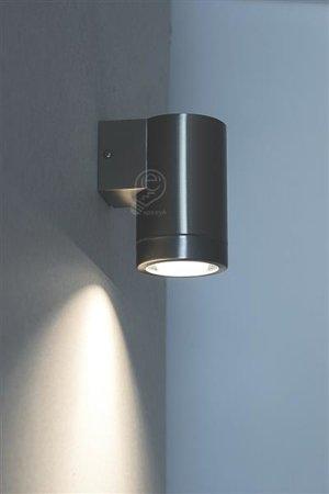 Zahradní fasádní lampa Inox, Aster GU10 Struhm