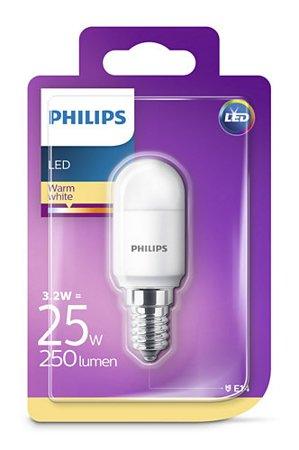 Žárovka LED Philips E14 2700K 3,2W = 25W kulička, do ledničky, okapu 8718696703137
