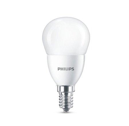 Žárovka LED Philips E14 6500K 7W = 60W kulička 8718696746790