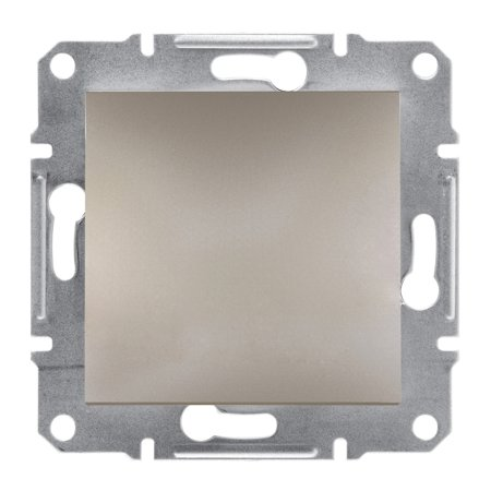 Záslepka bez rámečku, hnědá Schneider Electric Asfora EPH5600169