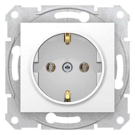 Zásuvka SCHUKO bílá Sedna SDN3000521 Schneider Electric