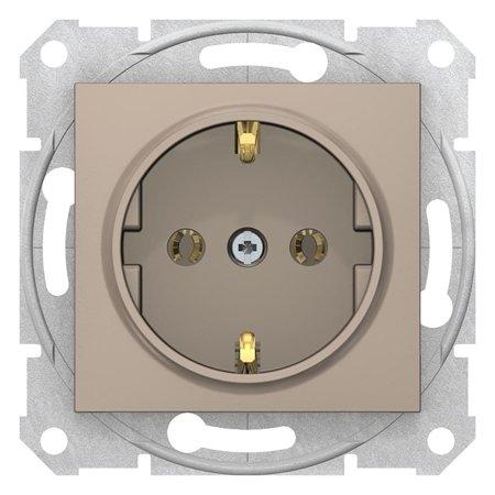 Zásuvka SCHUKO saténová Sedna SDN3001868 Schneider Electric