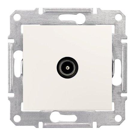 Zásuvka TV průchozí 8dB krémová Sedna SDN3201223 Schneider Electric