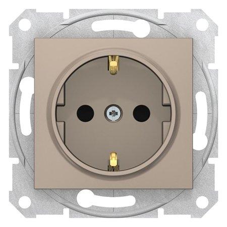 Zásuvka schuko saténová Sedna SDN3000168 Schneider Electric
