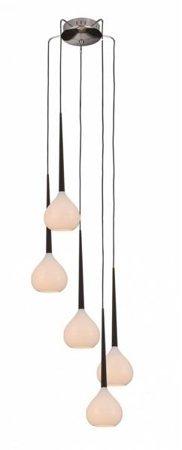 Závěsná lampa Aga 5 bílá Azzardo MD1289-5