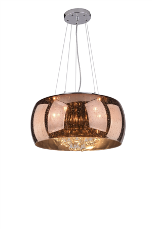 Závěsná lampa Buzz rezavá Azzardo 42609-5