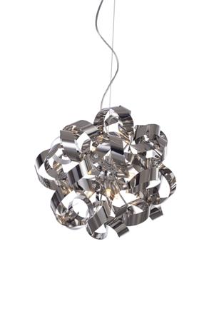 Závěsná lampa Delta chrom Azzardo MD05010015-9C