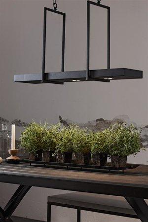 Závěsná lampa TRAY 3L 3x3W 3000K Černá 105780 Markslojd