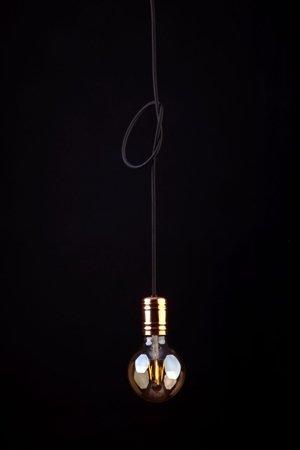 Závěsná lampa jednoduchá Cable Black/Copper E27 Nowodvorski 9747