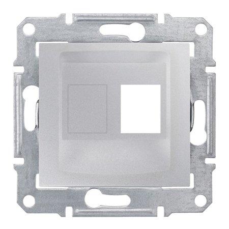 deska do 1xRJ45: AMP, MOLEX hliník Sedna SDN4300660 Schneider Electric